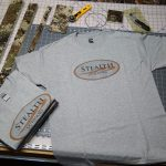 Gray T-Shirt with Stealth Outdoors Logo