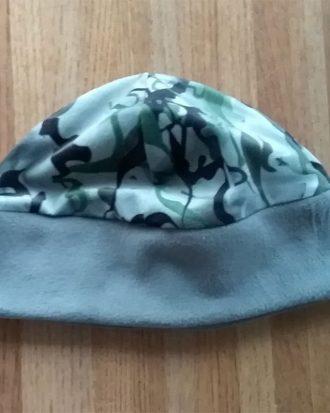 SMOKE Camo Fleece band cap (unlined)