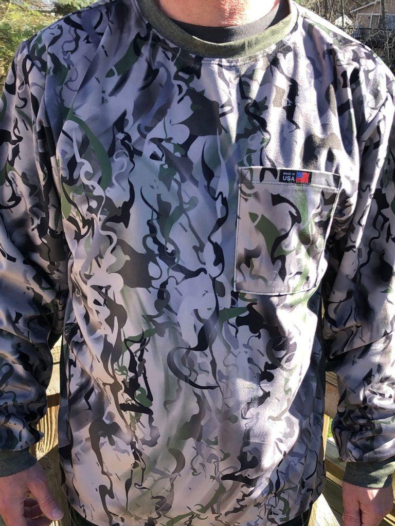 SMOKE camo hunting shirt