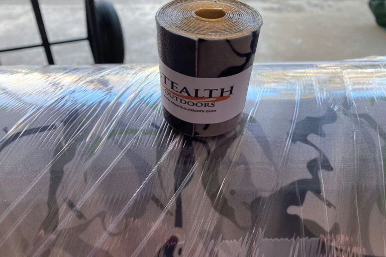 Stealth Strips SMOKE Camo roll silencing tape