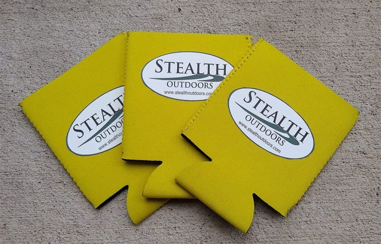 Stealth Outdoors can wraps yellow/green